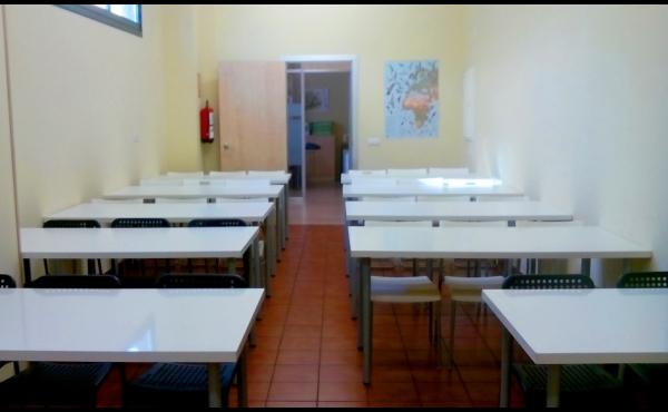 Sala para formación hasta 30 personas.