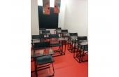 Aula apta para pequeñas reuniones, cursos o talleres reducidos