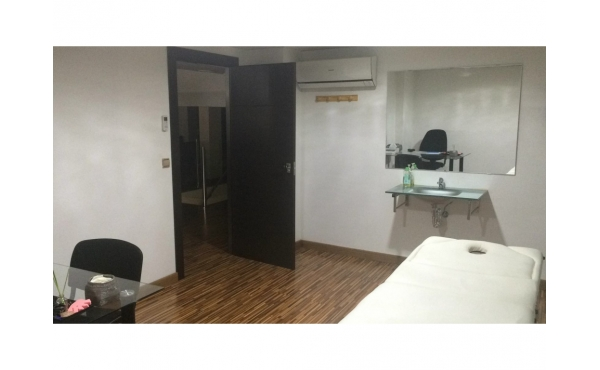 Sala para fisioterapia, nutrición y dietética