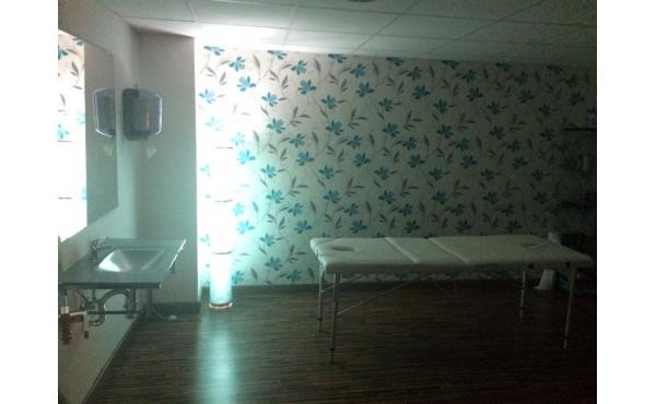 Sala para fisioterapia, nutrición, dietética