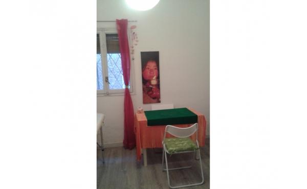 Cabina de masajes y terapias alternativas