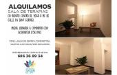 Sala208, Sala de terapias en Alquiler