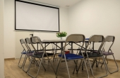 Sala de reuniones, espacio de trabajo