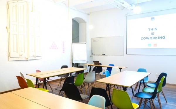Sala de formación CREC