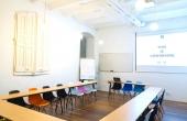 sala para presentación