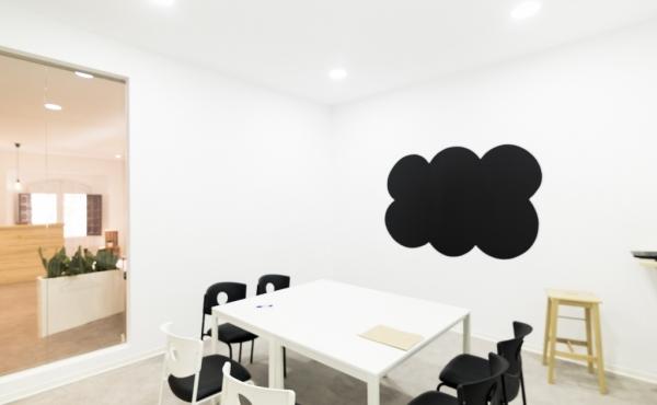 Sala de reuniones Doblemitad