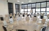 Sala de conferencias. Montaje circular